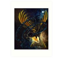 Space King Of Saxony Art Print