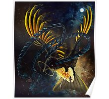 Space King Of Saxony Poster