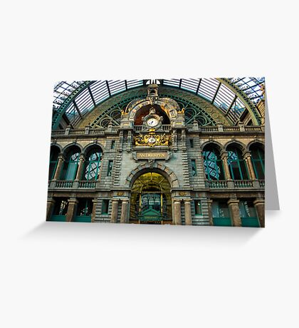 Gare Centrale/ Central Station 2 - Travel Photography Greeting Card