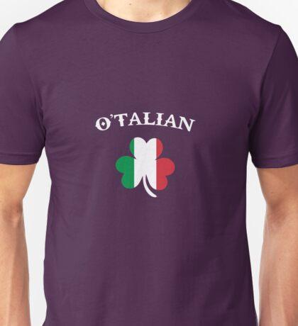 O'Talian Italian Irish St. Patrick's Day Unisex T-Shirt