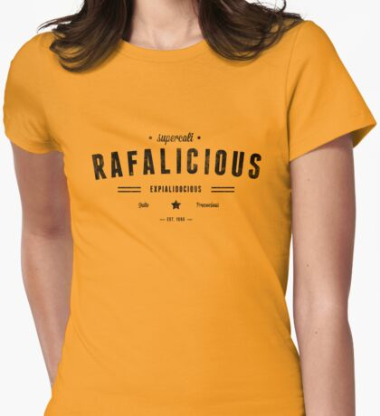 Rafalicious Womens Fitted T-Shirt