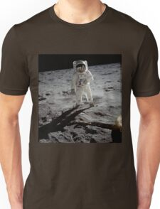 Buzz Aldrin on the moon | Space Unisex T-Shirt