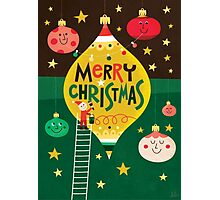 MERRY LITTLE CHRISTMAS Photographic Print