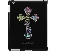 Love and Faith. iPad Case/Skin