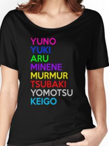 Anime Characters Shirt Women's Relaxed Fit T-Shirt