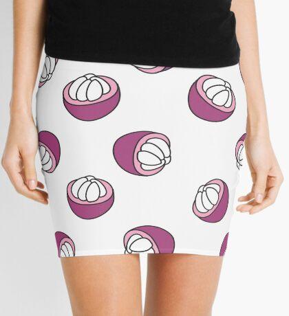 mangosteen doodle pattern Mini Skirt