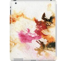 Orange and pink abstract iPad Case/Skin