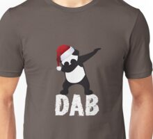 DAB PANDA dab on em christmas dabber dance football touch down red Unisex T-Shirt