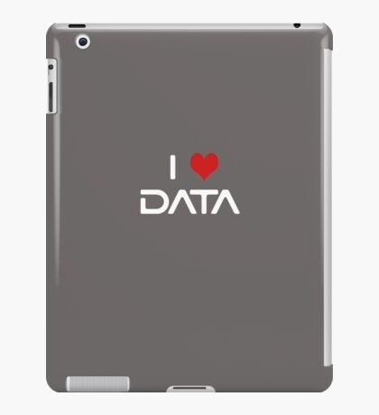 I Love Data iPad Case/Skin