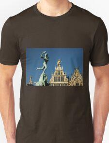 Belgian Architecture/Brawny Man - Travel Photography Unisex T-Shirt