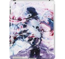 Purple, blue and pink abstract  iPad Case/Skin