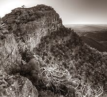 The cliffs of Mount Cobbler by Kevin McGennan