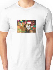 Happy Pawlidays! Unisex T-Shirt