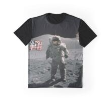Man on the moon | Space Graphic T-Shirt