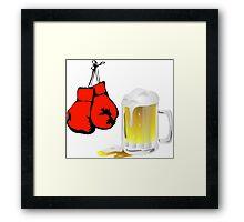 Punch Drunk Framed Print