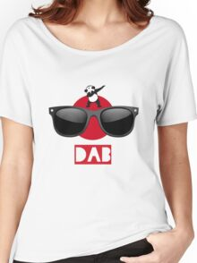 DAB PANDA dab on em dabber dance football touch down red Women's Relaxed Fit T-Shirt