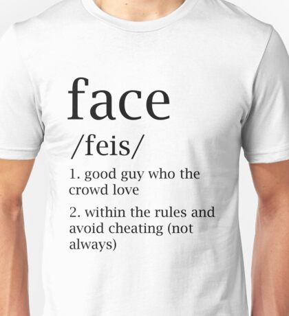 Face defitinion Unisex T-Shirt