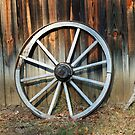 The Old Wagon Wheel by RickDavis