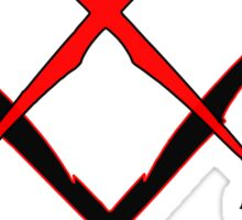 BTL RAP Cross Bolts Tee Sticker