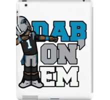 cam newton iPad Case/Skin