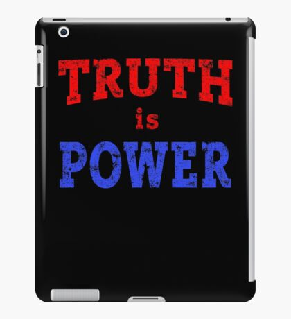 TRUTH IS POWER iPad Case/Skin