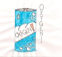 Can Of Oxygen by SteveHanna