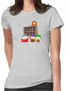 south park south park cartman stan kenny kyle t shirts Womens Fitted T-Shirt