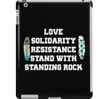 Stand with Standing Rock iPad Case/Skin