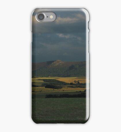Bennachie view iPhone Case/Skin
