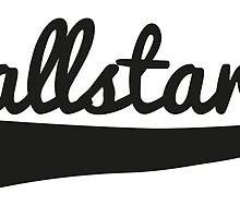 Allstar Soccer Apparel Training T-Shirt by springwoodbooks