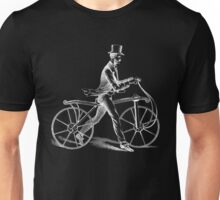 Vintage dandy cyclist | Bike Unisex T-Shirt