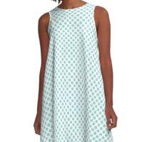 Limpet Shell Polka Dots A-Line Dress