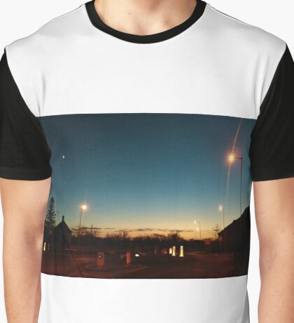 A sunset of English suburbia Graphic T-Shirt