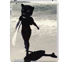 Surfing Panther iPad Case/Skin