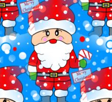 Santa Land Sticker