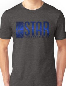 Blue Galaxy S.T.A.R. Labs Unisex T-Shirt