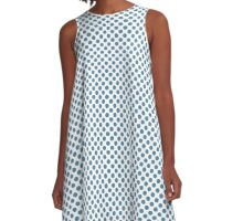 Niagara Polka Dots A-Line Dress