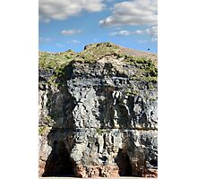 cliffs and sky on the wild atlantic way Photographic Print
