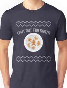 I Put Out For Santa Ugly Christmas Gift Unisex T-Shirt