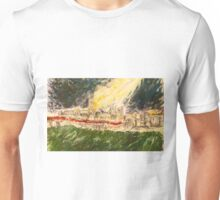 Bell Tower Harry Turns His Floodlight OFF Unisex T-Shirt
