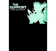 Thresh - The Support Photographic Print