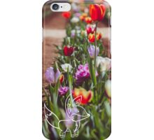 Tulips and little Fox iPhone Case/Skin