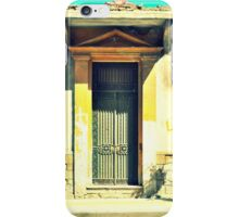 door half yellow iPhone Case/Skin