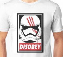 Star wars stormtrooper disobey Unisex T-Shirt