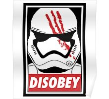 Star wars stormtrooper disobey Poster