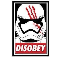 Star wars stormtrooper disobey Photographic Print