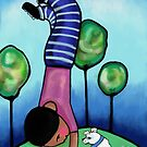 Handstand  by Beatrice  Ajayi