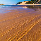 Sand Rippled. by Bette Devine