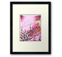 Alpenglow Goddess Framed Print
