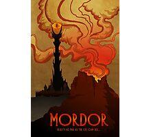 Mordor Travel Photographic Print